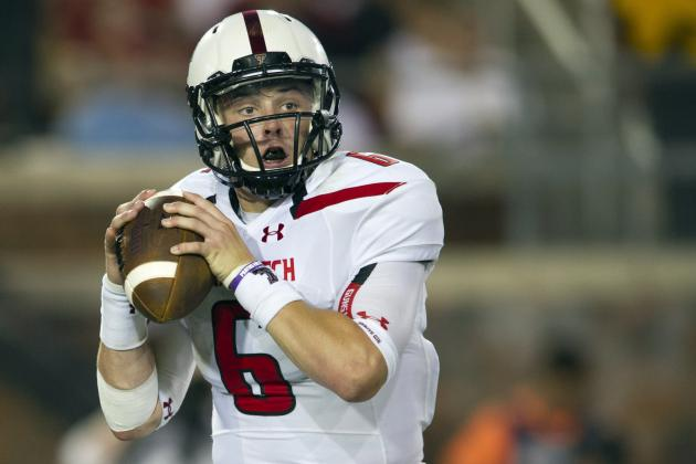 Texas Tech Football: Freshman QB Baker Mayfield Shines in Win over SMU