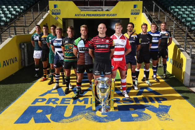 Aviva Premiership 2013 Fixtures: Listings and Predictions for Week 1