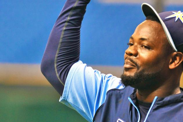 Tampa Bay Rays' Fernando Rodney Saved from Being Trapped in Dugout Bathroom