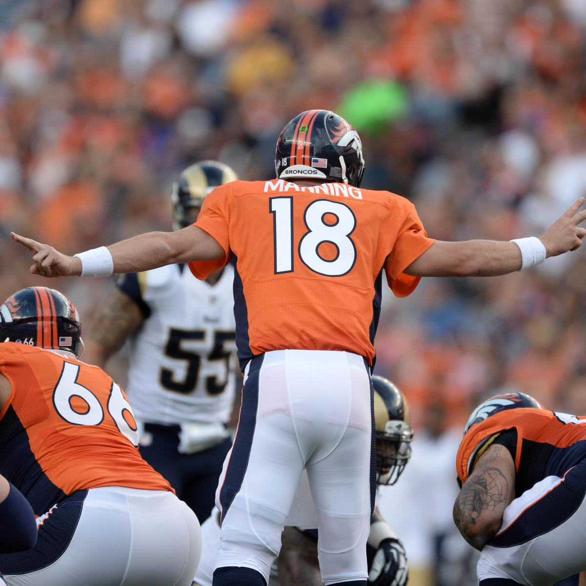 Denver Broncos 2013 Team Roster: Report Card Grades For