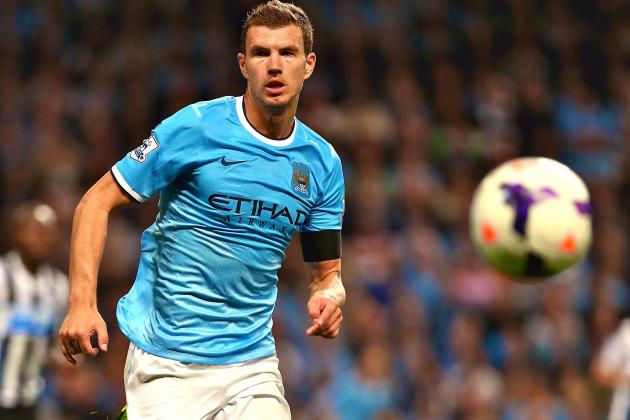 Edin Dzeko Already Faces Shaky Manchester City Future with Manuel Pellegrini