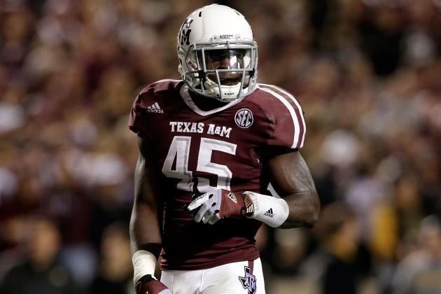 Texas A&M Suspends 4 Players for First Two Games