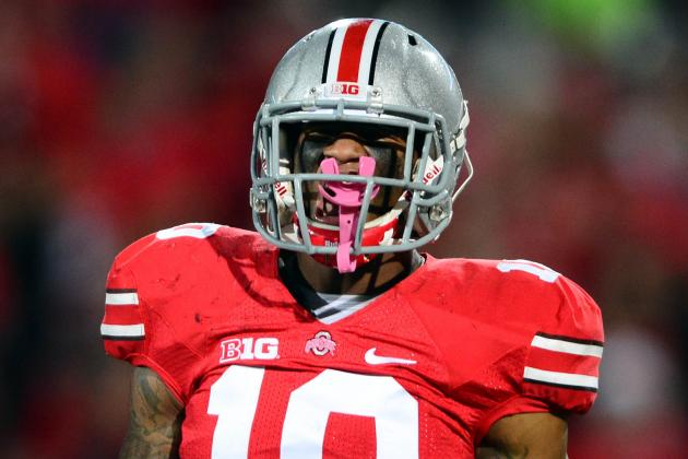 Ohio State LB Ryan Shazier Carted off the Field Against Buffalo