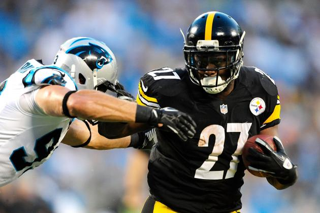 Steelers Release Running Back Jonathan Dwyer