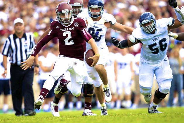 Rice vs. Texas A&M: Live Scores, Analysis and Results