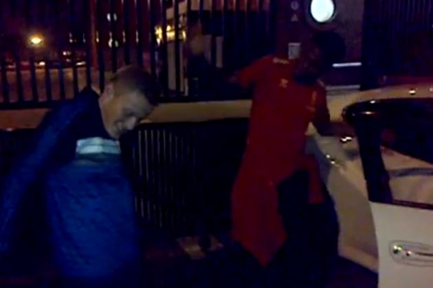 Sturridge Dances with Fan