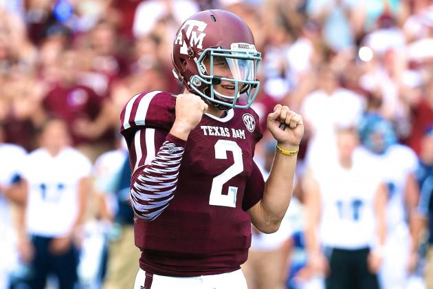 Twitter Reacts to Johnny Manziel's 2013 Debut