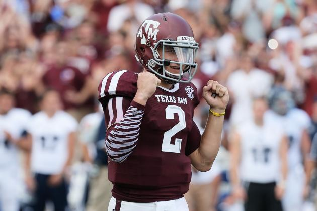 Johnny Manziel's Swagger Helps Him Shine in Texas A&M Opener