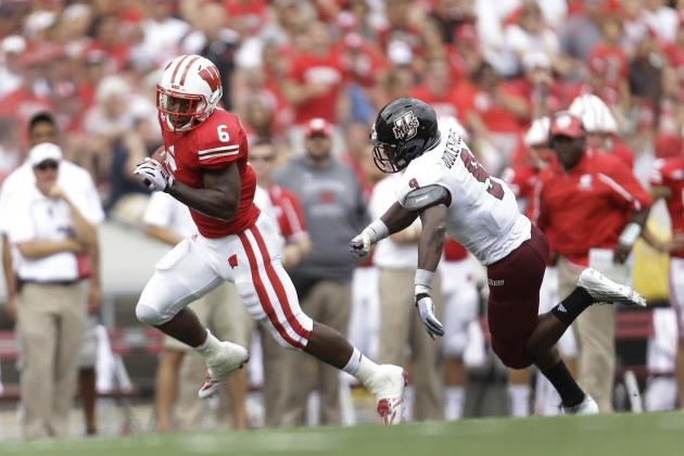 UMass vs. Wisconsin: 3 RBs over 100 Yards Show Badgers Still Ground-and-Pound