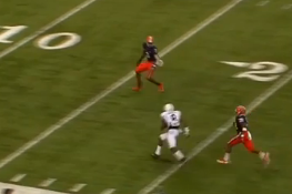 Video: Allen Robinson Returns for 2nd Half, Scores 51-Yard Touchdown