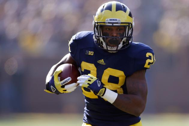 Michigan Football: Healthy, Strong Fitz Toussaint Makes Wolverines Dangerous