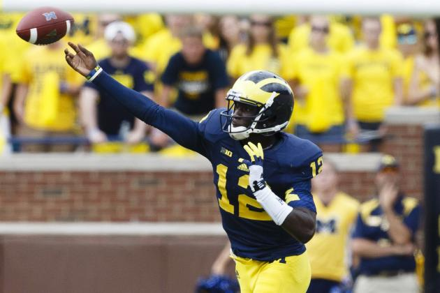 Central Michigan vs. Michigan: Live Game Grades and Analysis for the Wolverines