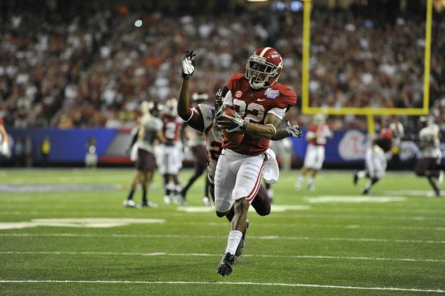 Christion Jones Scores 3 Touchdowns for Alabama in Breakout Performance