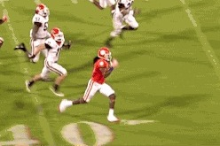 Clemson's Sammy Watkins Goes Beast Mode for the 77-Yard Touchdown