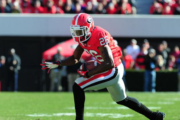 UGA's Malcolm Mitchell out for Rest of Clemson Game