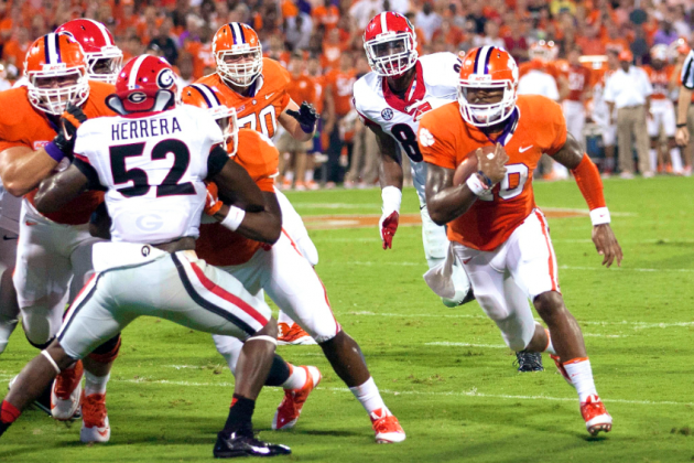 Georgia vs. Clemson: Live Scores, Analysis and Results