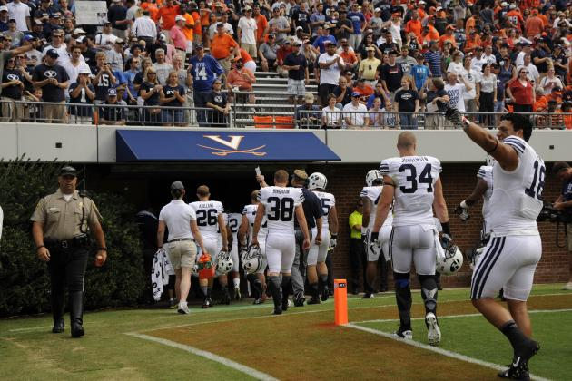 Parks' Late TD Lifts Virginia Past BYU, 19-16
