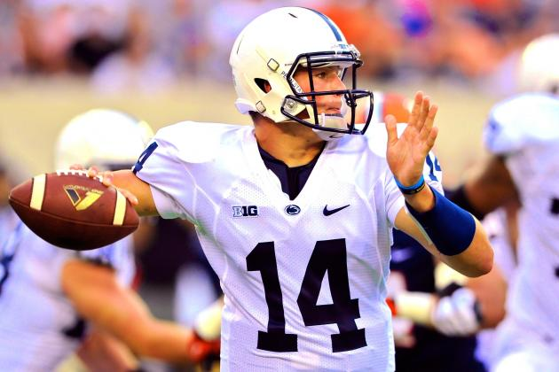 Christian Hackenberg Cements Himself as Penn State's QB of the Future in Debut