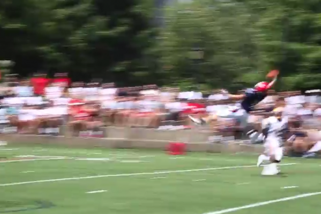 Duquesne Wide Receiver Sean Brady Makes an Amazing One-Handed Touchdown Grab