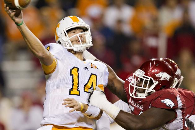 Justin Worley Precise, Efficient in UT Vols' Season Opener