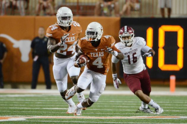 New Mexico State vs. Texas: Live Grades and Analysis for the Longhorns