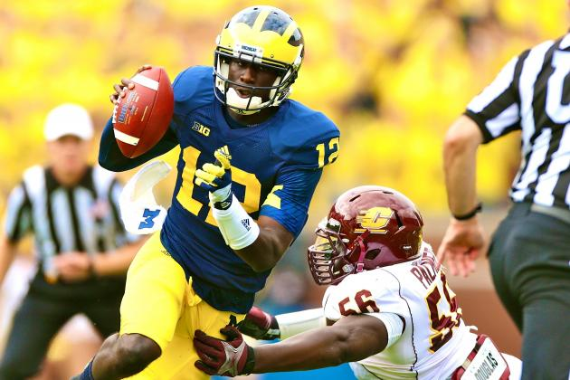 Central Michigan vs. Michigan: It Doesn't Even Feel Like Denard Robinson Is Gone