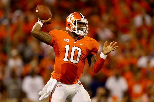 Tajh Boyd Cements Himself as One of Nation's Best QBs with 5 TDs vs. Georgia