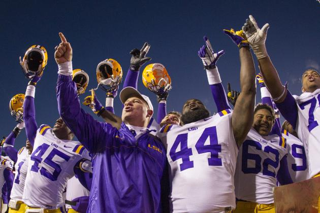 LSU vs. TCU: Live Game Grades and Analysis for the Tigers