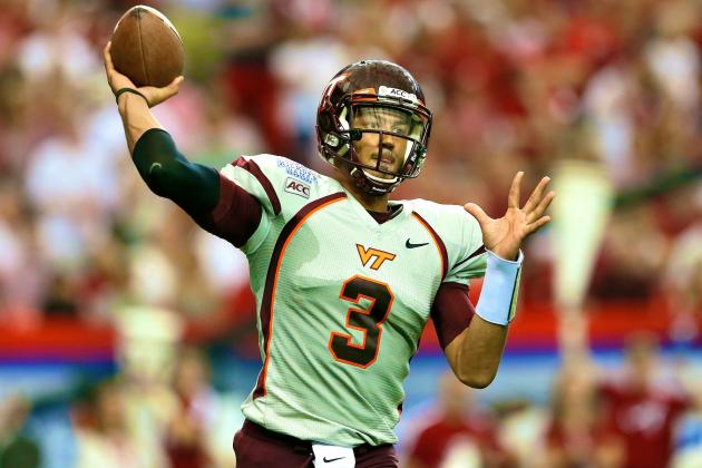 Virginia Tech Football: Will Logan Thomas Recover from Dismal Showing?