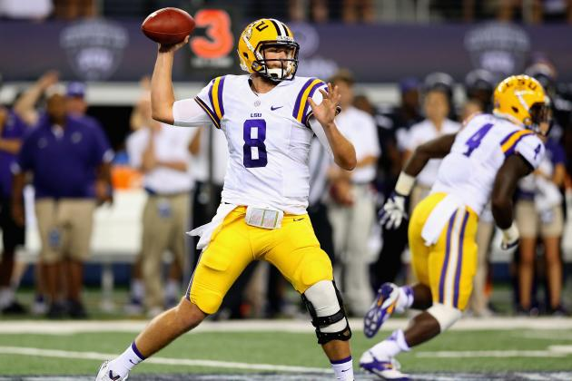 Zach Mettenberger Shines in LSU's 37-27 Victory over TCU