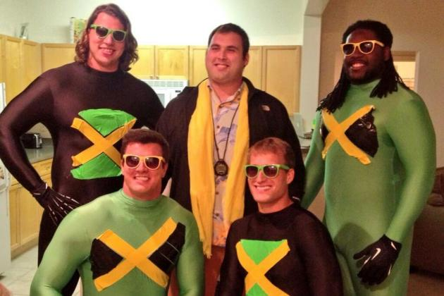 Redskins Dress Up as the Cast of 'Cool Runnings' for Island Party