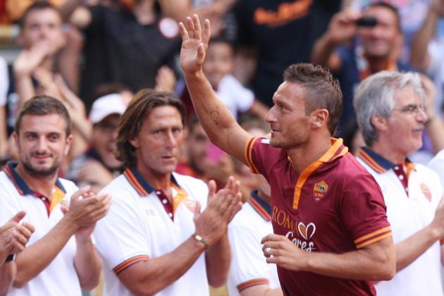 Roma Announce Starting XI vs. Verona