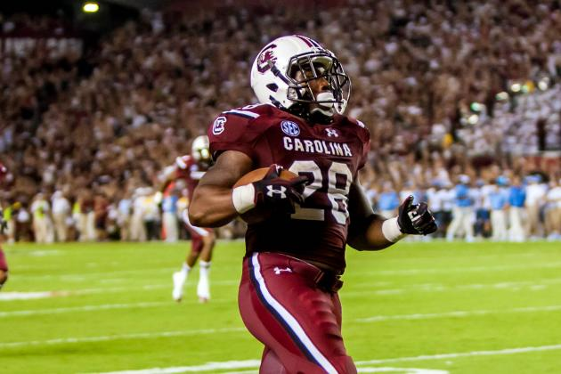 For One Quarter of Football, No. 6 South Carolina Looked Unbeatable
