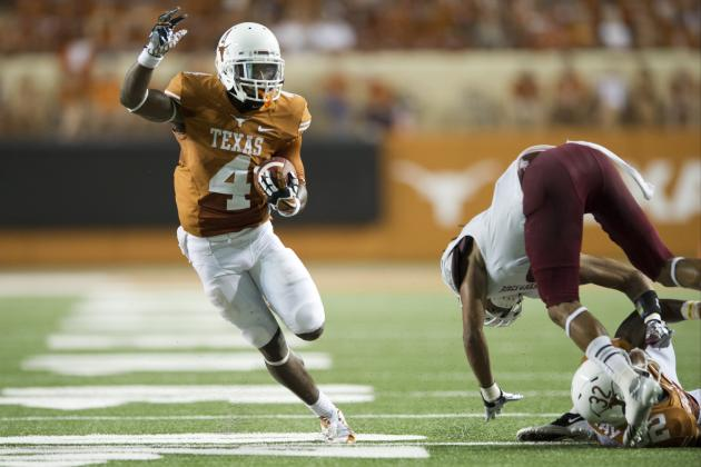 Texas vs. New Mexico State: Uptempo Offense Shows Flashes of Brilliance