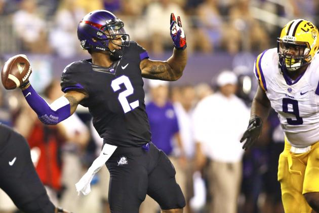 LSU vs. TCU: Trevone Boykin Should Be the QB for the Horned Frogs Going Forward