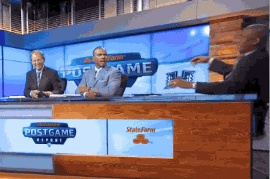 Ronnie Lott Falls off the Pac-12 Network Set Following UCLA-Nevada