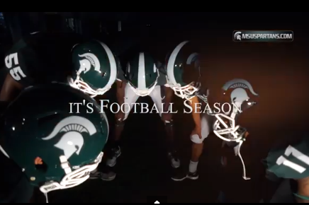 Video: MSU's Basketball Team Dresses Up in Football Attire to Support Team