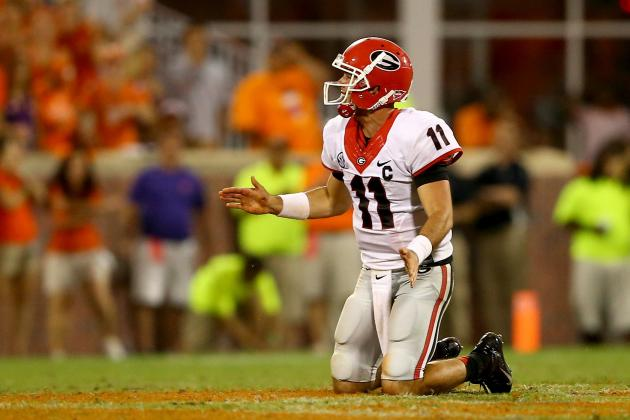 Watch Georgia Defender Fake Injury vs. Clemson