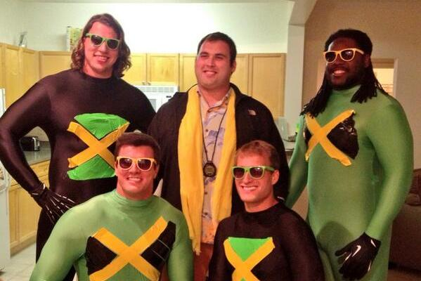 Redskins Dress Up as Jamaican Bobsled Team with 'Cool Runnings' Costume