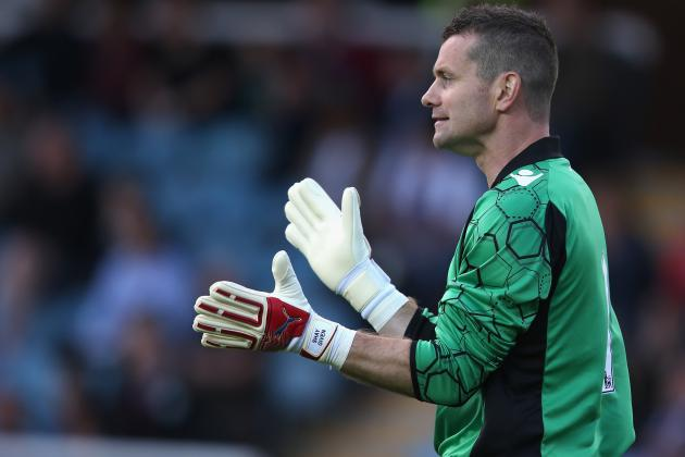 Liverpool Transfer Rumours: Shay Given Would Be Solid Cover for Simon Mignolet
