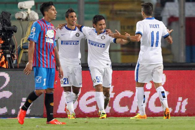Catania 0-3 Inter: Still perfect