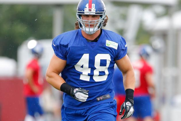 DAL Adds LB Kyle Bosworth off Waivers from NYG