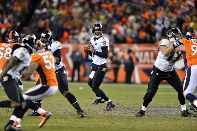 Twitter Reacts to Joe Flacco Poster Hung from Denver Broncos' Stadium