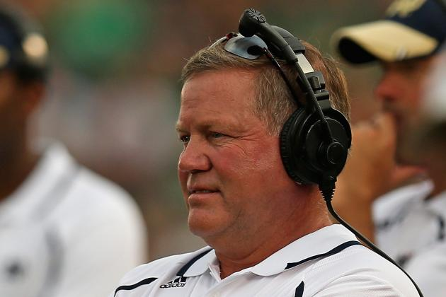 Brian Kelly Doesn't See Michigan as a Historic Rival of Notre Dame