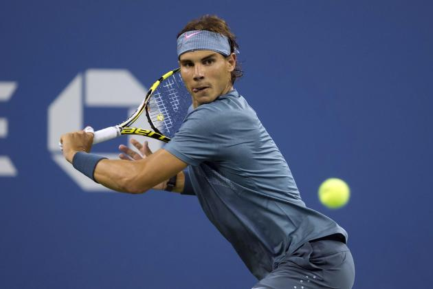 Rafael Nadal Looks Like King of the Hard Court as 2013 U.S. Open Rolls on