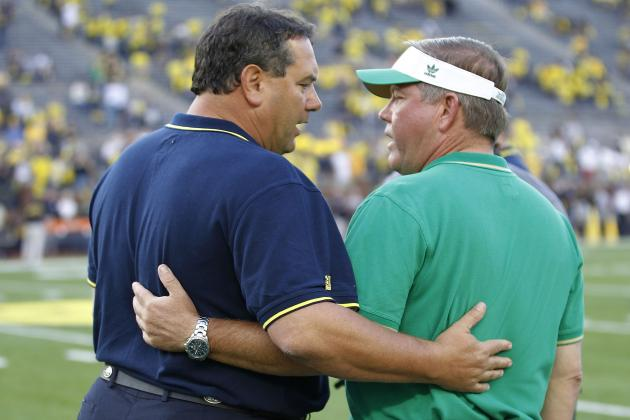 Does Kelly See ND-Michigan as Just Another Game?