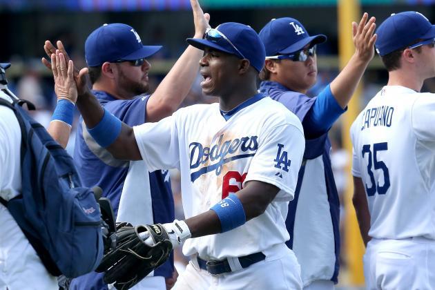 Greinke, Puig Help Dodgers Sweep Padres