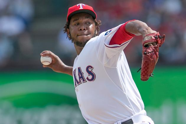 Neftali Feliz Made His 2013 Debut Against the Twins