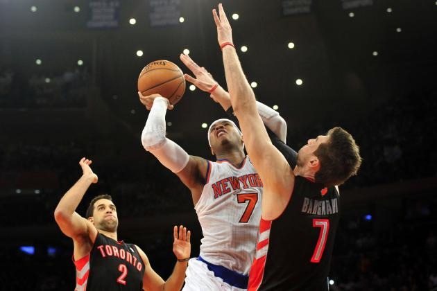 Why Carmelo Anthony-Andrea Bargnani Partnership Will Work for NY Knicks