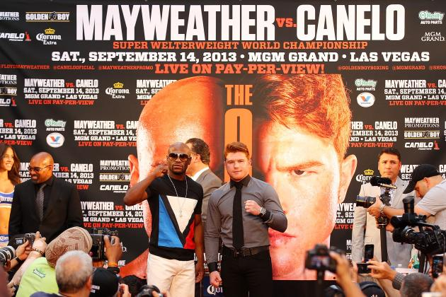 Mayweather vs Canelo: Money Won't Pass the Torch on September 14